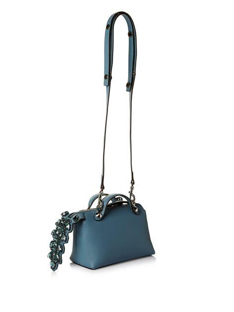 Fendi By The Way Tricolours lyst fendi by the way mini cross bag