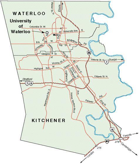 Kitchener Waterloo Area by Leung Uwaterloo Ca
