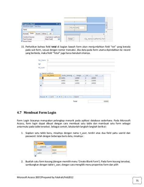 membuat database inventory dengan access contoh database microsoft access top 10 work at home jobs