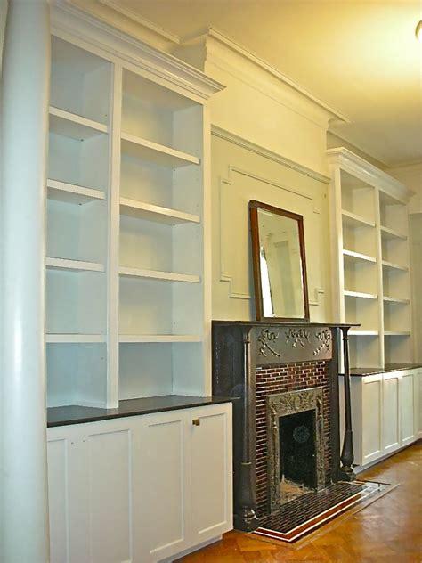 custom fireplace surround wall unit  hammer time studio