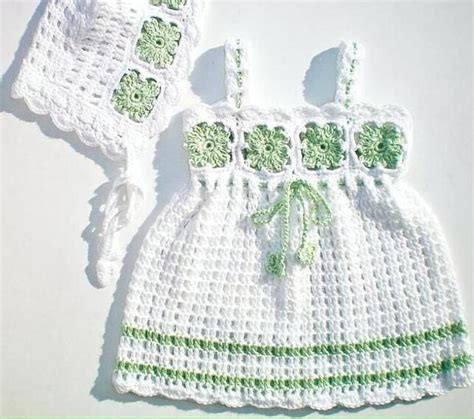 crochet 2017 para bebes vestidos para beb 233 s 187 vestidos crochet de beb 233 2017 4
