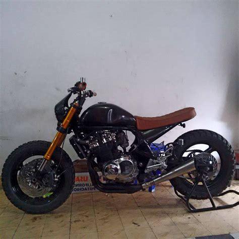 Modifikasi Motor Suzuki by Foto Modifikasi Suzuki Bandit 400 Scrambler