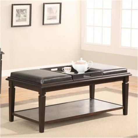 Cushion Coffee Table Coffee Table Cushion Somerton Leather Coffee Table With Cushion In Bench With Three Cushions