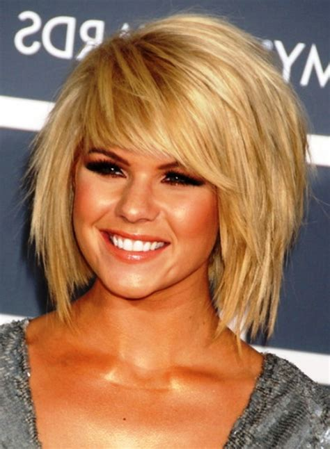 short choppy layered with bang for fine hair long face short choppy layered haircuts