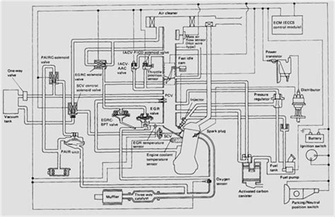 solved 1991 nissan d21 truck 2 4 engine vacuum diagram