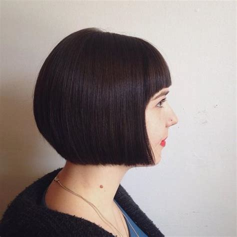 chin length blunt hairstyles 50 spectacular blunt bob hairstyles