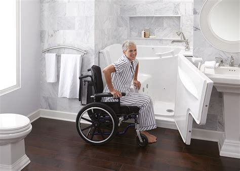 bathtub for senior citizens how to make a senior friendly safe bathroom