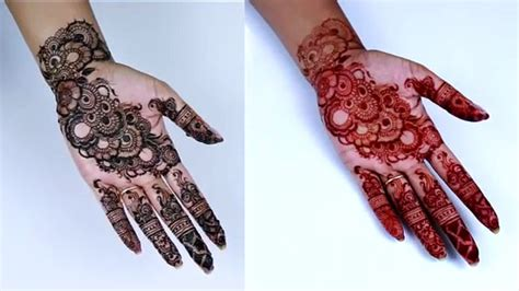 henna designs inner hand henna designs for hands step by step www pixshark com