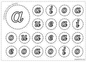 recortar varias imagenes a la vez vocales para imprimir y colorear may 250 sculas y min 250 sculas