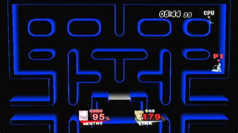 pacman hack ssbb hack pac stage preview