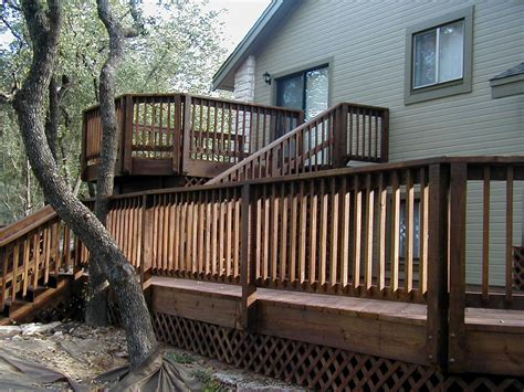 house decks designs exceptional house deck plans 12 split level home deck designs smalltowndjs com