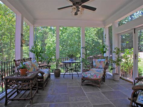 French Home Design Blogs by Cottage Porch With French Doors Amp Screened Porch In