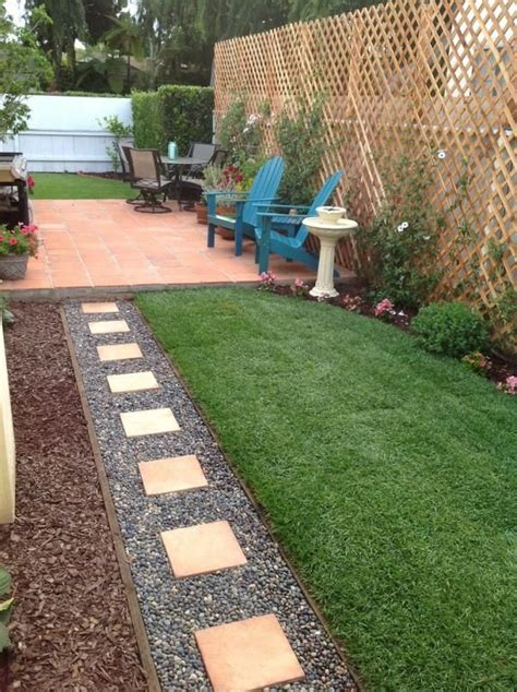 Small Rectangular Backyard Designs by How To Make Your Garden Look Bigger Without Expanding