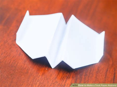 How To Make A Paper Stunt Plane - 3 ways to make a trick paper airplane wikihow