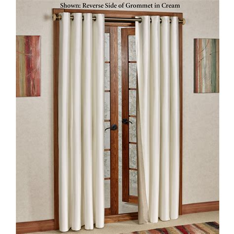insulated grommet curtains reflections faux silk insulated grommet curtains