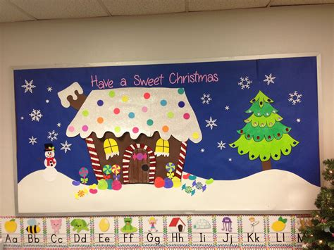 merry christmas class decoration bulletin board gingerbread house bulletin boards doors