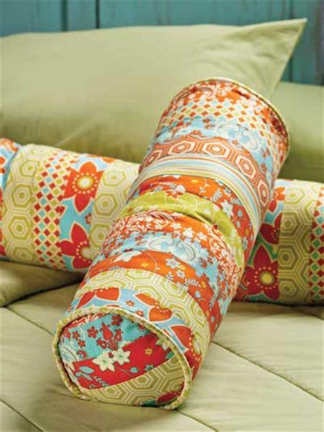 jelly roll bolster pillow