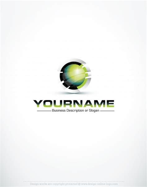 free logo design sles exclusive 3d high tech logo design