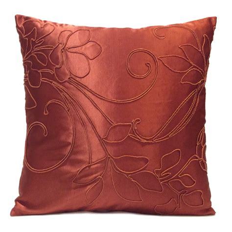 Copper Pillow by Copper Rust Pillow Throw Pillow Cover Decorative Pillow