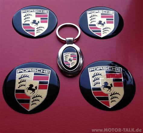 Porsche Radkappen Aufkleber by Porsche Aufkleber F 252 R Nabenkappen Schl 252 Sselanh 228 Nger Biete