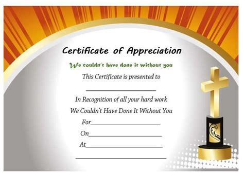 pastor appreciation certificate template pastor appreciation certificate template free pastor