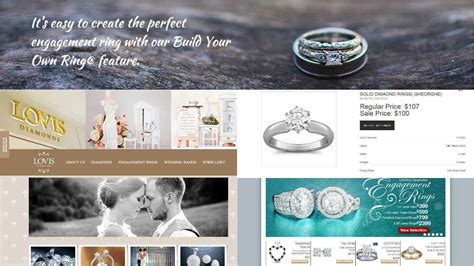 Handmade Websites - jewelry web development style guru fashion glitz