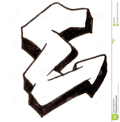 lettere stile graffiti letter e alphabet in graffiti style stock photo image