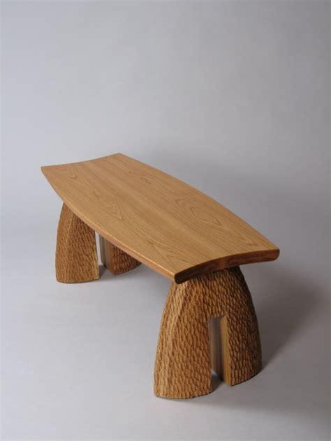 handcrafted outdoor bench   montshire museum