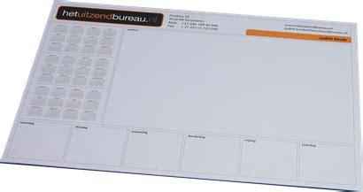 design kalender bureau bureau onderleggers grafische regisseurs