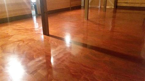Rock Solid Garage Floor Coating Reviews by Garage Completed With Diy Metallic System Rustic