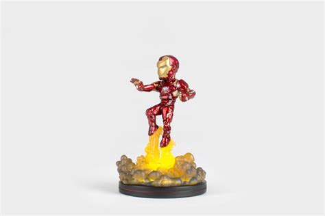 Best Seller Kaos Iron Glow In The Stark Industries Superh captain america civil war q fig iron fx diorama