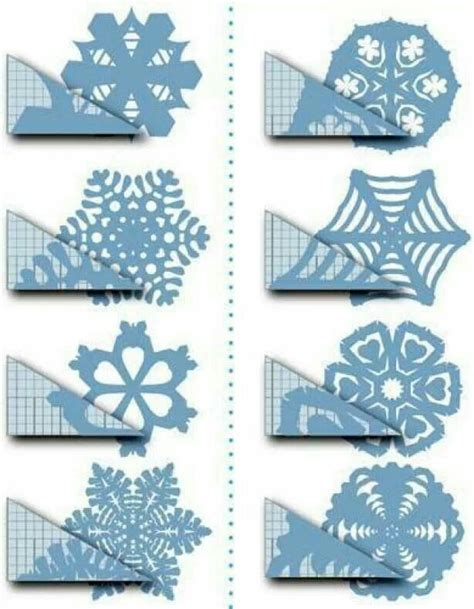 A Paper Snowflake - paper snowflake patterns inspiration