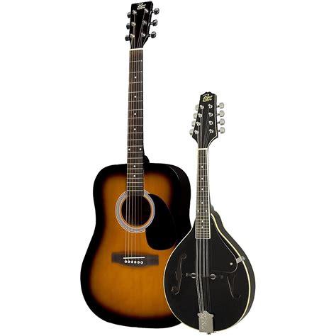 Gitar Mandolin rogue acoustic guitar and mandolin pack sunburst black ebay