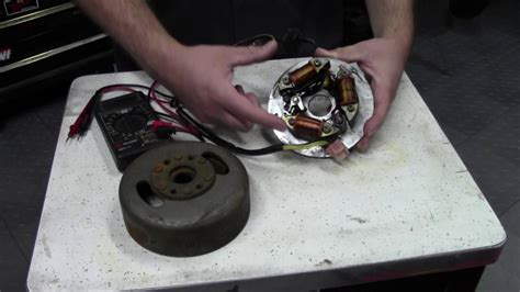 ignition system testing magneto coils points  cdi