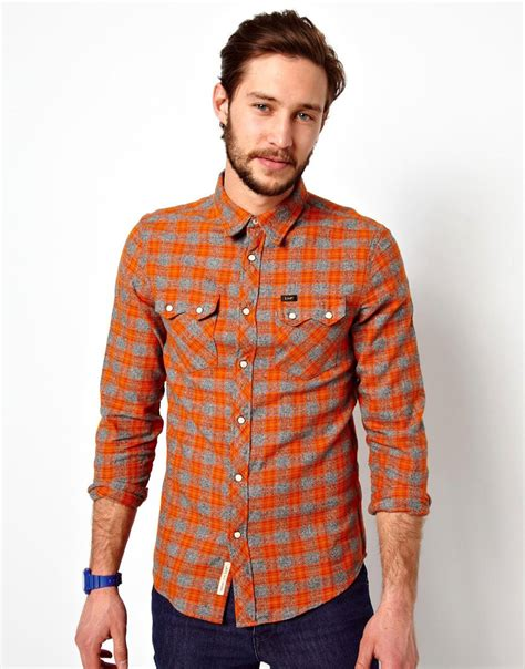 Slim Rider Shirt shirt rider flannel check slim fit at asos