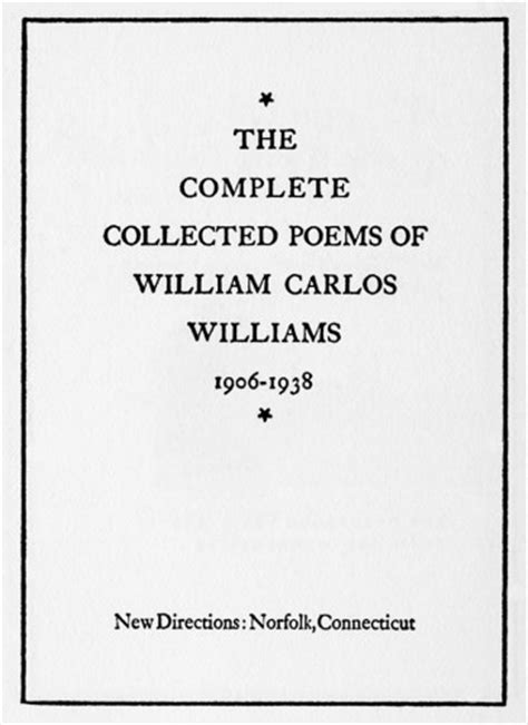 The Complete Collected Poems of William Carlos Williams