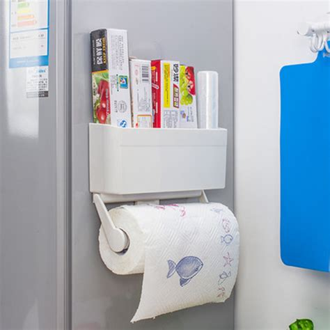 magnetic toilet paper holder 2 in 1 magnetic toilet paper holder refrigerator storage