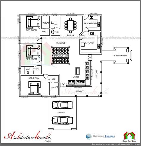 buy home plans architecture kerala traditional house plan with