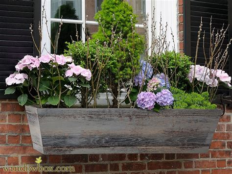 modern window boxes farmhouse window boxes distressed reclaimed finish
