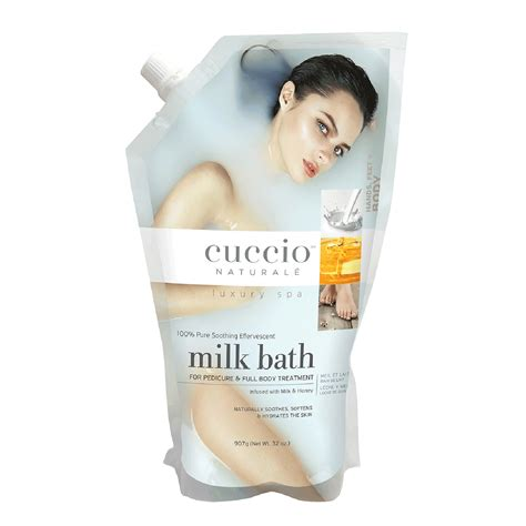 New Milk Bath Treatment Exfoliates Renews by Cuccio Milk Bath Cuccio Cina Pro Pro Cosmoprof