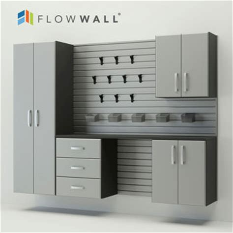 flow wall garage cabinets flow wall 5 piece garage cabinet storage system 999