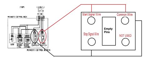 remote start wiring diagrams for generators