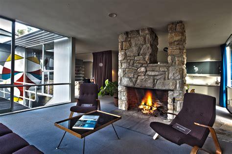 Open Floor Plan Log Homes by Mid Century Modernist Interior Design Ideas