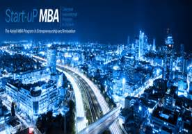 Technion Mba by Technion Start Up Mba Program
