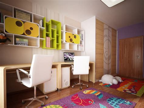 original children s bedroom design showcasing vibrant