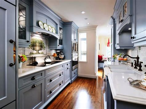 kitchen galley design ideas 7 steps to create galley kitchen designs theydesign