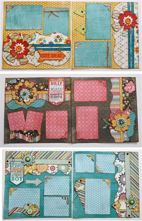 scrapbook layout design ideas kiwi lane design layouts scrapbooking pinterest