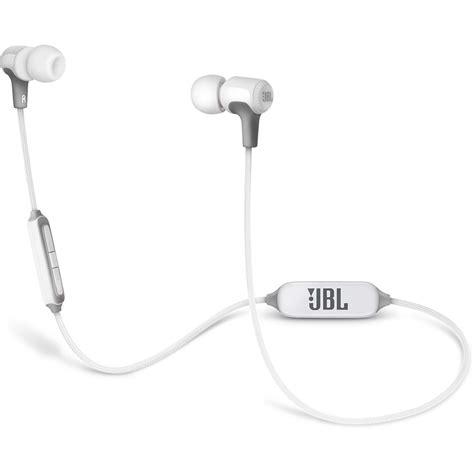 Headset Jbl E25bt jbl e25bt bluetooth in ear headphones white jble25btwht b h