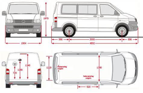 volkswagen caravelle dimensions vw caravelle interior dimensions www pixshark com