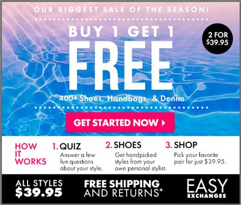 buy one get one free shoes justfab buy one get one free shoes